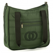 Cosy Coop Quilted Nappy Bag, Colour Emerald