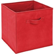 Red Foldable Simplify Storage Bin