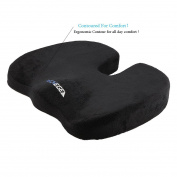 Techege Orthopaedic Gel Enhanced Comfort Foam Grade A Coccyx Tailbone Backpain Comfortable Cushion