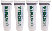 Biofreeze Pain Relieving Gel - colourless - 120ml Tube - Pack of 4