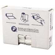 Inteplast Group S303710N 80cm x 90cm . 10 Micron High-Density Can Liner - Clear