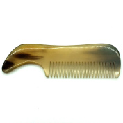 Beard and Moustache Comb - Pocket Sized. All Natural Hand crafted horn! *Lucky Franc's*