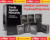 Cards Against Humanity V1.7 AU Edition Main Set + 123456 Expansions Express Post | WITH DHL OR FEDEX TO NZ