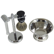 Barbero Shaving Kit with Shave Bowl