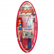 Tinkle Body Razor Triple Blade for Women Sensitive Skin