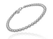 Persona Sterling Silver Ball Link with Lobster Clasp Bracelet H12447B1-P