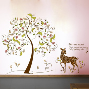 English Letters Tree Horse Heart Shape Wall Decal Home Sticker PVC Murals Vinyl Paper House Decoration Wallpaper Living Room Bedroom Kitchen Art Picture DIY for Children Teen Senior Adult Nursery Baby