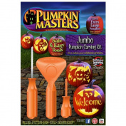 Jumbo Pumpkin Carving Kit for Extra Large Pumpkins 36cm and Up - Orange