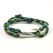Natural Disasters Themed Paracord Bracelets with Fish Hook