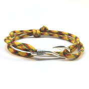 US Forces Paracord Bracelet with Fish Hook