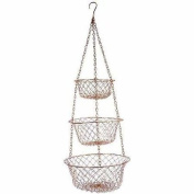5211 Polybagged Fox Run Wire Hanging Baskets, Multicolor