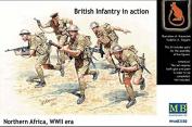 BRITISH INFANTRY NORTH AFRICA DESET BATTLE 1/35 MASTER BOX 3580