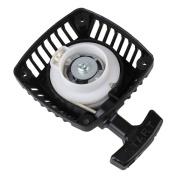 Mxfans D10056 Black Plastic Metal Pull Starter 23CC 26CC 29CC 30CC For All RC1/5 Model Car