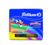 Pelikan Non-Hardening Modelling Clay, 4 Colours/Pack, Assorted Colours