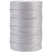 Iris 18-476 Nylon Crochet Thread, 197-Yard, Grey