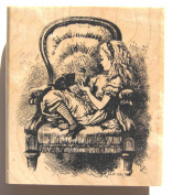 Nature's Blessings Fine Art Stamps, Alice in the Big Chair
