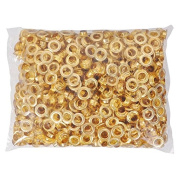 1000 #6cm Grommets & Washers Brass Eyelets