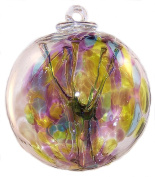 """Witch Ball """"Peace""""TM by Iron Art Glass Designs"""