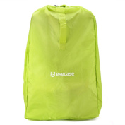 Car Seat Travel Bag, Evecase Baby Child Car Seat Carrying Travel Case Bag with Shoulder Strap - Green