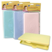Plastic 10cm x 20cm Baby Wipe Holder Carry Case