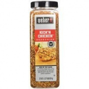 Weber KICK'N CHICKEN All Natural Seasoning - 650ml - Perfect for Grilling, Made with Sea Salt, no MSG, Gluten... Thank you for using our service