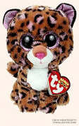 """New TY Beanie Boos Cute Patches the Leopard Plush Toys 6"""" 15cm Ty Plush Animals Big Eyes Eyed Stuffed Animal Soft Toys for Kids Gifts"""