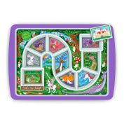 Fred & Friends DINNER WINNER Kids' Dinner Tray, Enchanted Forest