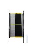 Kidkusion Driveway Safety Net, Black/Yellow