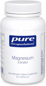 Pure Encapsulations - Magnesium citrate - Hypoallergenic Supplement Supports Nutrient Utilisation and Physiological Functions* - 90 Capsules