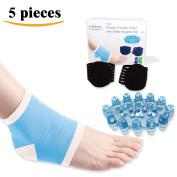 DR JK- Comprehensive Plantar Fasciitis, Arch, Heel & Ankle Support PedPal Kit- 5 Piece Foot Massager Plantar Fasciitis, Plantar Fasciitis Sock, Arch Support, Heel Protectors, Ankle Socks, Heel Pads