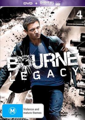 The Bourne Legacy (DVD/UV)