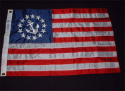 US Yacht Ensign 41cm x 60cm Flag