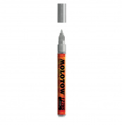 Molotow Co Tip 1.5Mm Metal. Silver Paint Mrkr