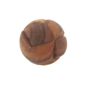 Soccer Ball Tactile Wooden Puzzle
