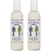2 x Earth Friendly Kids® Children Skin Body Lotion with Natural Certified ORGANIC Ingredients 250ml