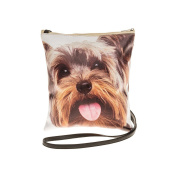 Yorkie, Yorkshire Terrier Dog Face Crossbody/Shoulder Bag