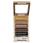 Contever® 5 Colours eyeshadow palette Shimmer and Glitter Makeup Set # 3