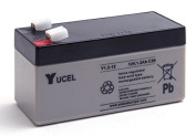 Yucel - SLA Battery Y1.2-12 12V 1.2Ah YUCEL - Unit