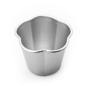 Aluminium Middle Flower Pudding Jelly Mould Kitchen Baking Bakeware Diy Silver Tools Bread