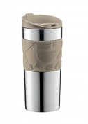 Bodum 0.35L Stainless Steel Travel Mug, Beige