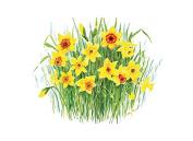 Tuftop 30cm x 22cm Small Worktop Saver, Daffodil, Textured Finish