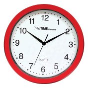 The Time Company Basic Wall Clock 31cm Red