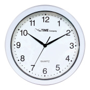 The Time Company Basic Wall Clock 31cm White