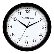The Time Company Basic Wall Clock 31cm Black