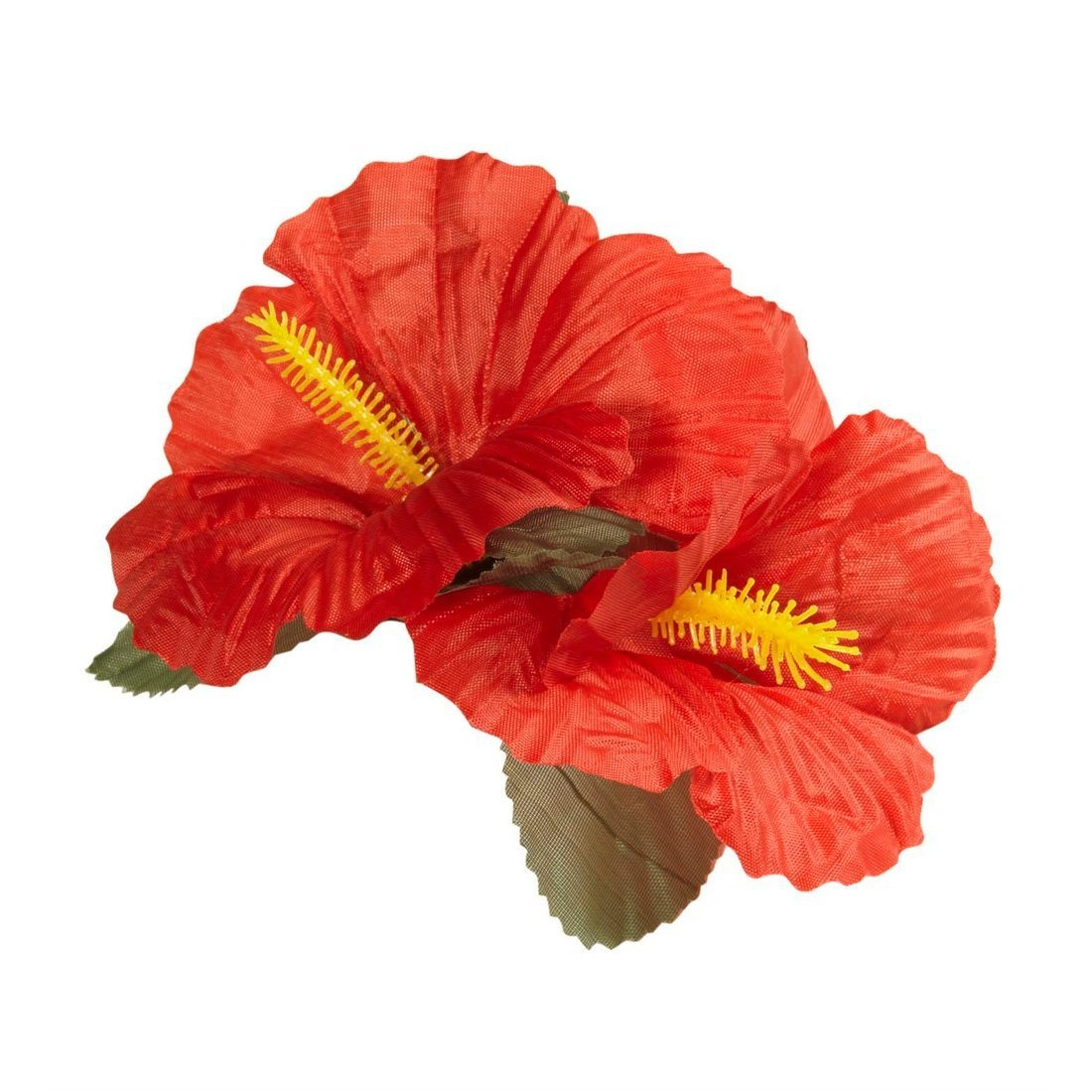 Red Hibiscus Flowers Hair Clips Red Hibiscus Flower Hair Clip Hawaii