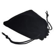 BCP Pack of 20pcs 7.6cm X 10cm Velvet Drawstring Cloth Jewellery / Gift / Headphones Bag / Pouches