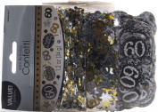 Amscan 360188 34 g Gold Celebration 60th Confetti