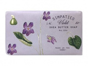 Violet #83 Milled Shea Soap by Simpatico