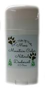 Organic & Natural Deodorant That Naturally Detoxes - Mens Mountain Cedar Scent - W/Organic Non-GMO Ingredients - For Women - Men - Kids - NO