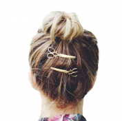 Coromose Women Handmade Flower Banana Barrette Hair Clip Hair Pin Claw